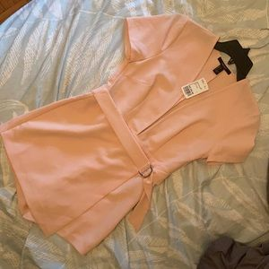 Forever 21 dusty pink romper
